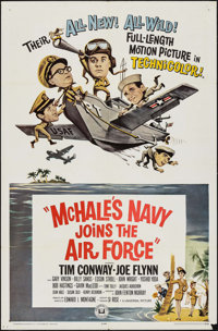 """McHale's Navy Joins the Air Force & Others Lot (Universal, 1965). One Sheets (3) (27"""" X 41""""). Comedy..."""