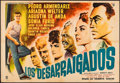 "Movie Posters:Foreign, The Uprooted (CIC, 1960). Mexican Two Sheet (37"" X 54.25""). Foreign.. ..."