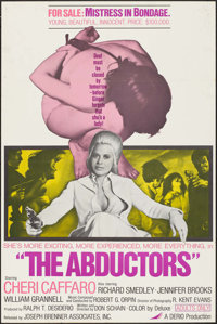 """The Abductors & Other Lot (Joseph Brenner Associates, 1972). One Sheets (2) (27"""" X 41""""). Sexploitation..."""