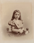Photographs, Henry Billard (French, 19th century). Untitled portrait, 1899. Albumen. 14 x 11-1/8 inches (35.6 x 28.3 cm). Signed and ...