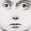 Photographs, Tetsu Okuhara (American/Japanese, b. 1942). Six Part Face, 2001. Gelatin silver, in six parts. 9 x 8-3/4 inches (22.9 x ...