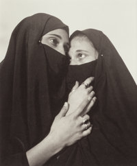 Andres Serrano (American, b. 1950) Istabul (Sisters), 1996 Platinum 9-3/4 x 8 inches (24.8 x 20.3