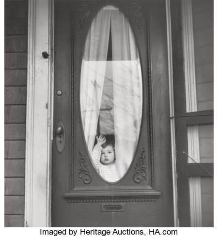 Morris Engel (American, 1918-2005) Buda, Texas, from the series How America Lives, 1949 Gelatin silver, printed la...