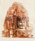 Photographs, Jean Pagliuso (American, 20th Century). The Bayon I, 1997. Gelatin silver print on two sheets of Kaji paper. 28 x 23-1/2...