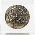 Hockey Collectibles:Others, 1980 Herb Brooks Lake Placid Winter Olympic Games Participation Medal. ...