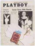 Magazines:Vintage, Playboy V2#9 (HMH Publishing, 1955) Condition: FN+. ...