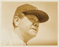 Baseball Collectibles:Photos, 1940's Babe Ruth Original Photograph, PSA/DNA Type 1. ...