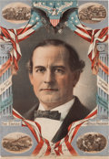 Political:Posters & Broadsides (1896-present), William Jennings Bryan: Rare and Colorful 1900 Poster. ...