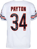 Football Collectibles:Uniforms, 1990's Walter Payton Signed Chicago Bears Jersey with Six Inscriptions. . ...