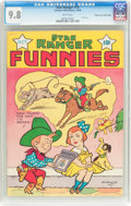 Golden Age (1938-1955):Western, Star Ranger Funnies #15 Mile High Pedigree (Centaur, 1938) CGCNM/MT 9.8 White pages....