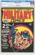 Golden Age (1938-1955):War, Military Comics #5 Mile High Pedigree (Quality, 1941) CGC NM+ 9.6 White pages....
