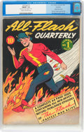 Golden Age (1938-1955):Superhero, All-Flash #1 Rockford Pedigree (DC, 1941) CGC FN/VF 7.0 Cream to off-white pages....