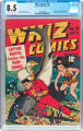 Whiz Comics #19 (Fawcett Publications, 1941) CGC VF+ 8.5 Cream to off-white pages