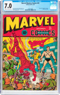 Golden Age (1938-1955):Superhero, Marvel Mystery Comics #25 (Timely, 1941) CGC FN/VF 7.0 Cream to off-white pages....