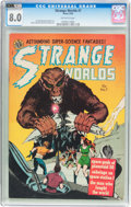 Golden Age (1938-1955):Science Fiction, Strange Worlds #7 (Avon, 1952) CGC VF 8.0 Off-white pages....