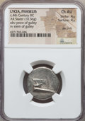Ancients:Greek, Ancients: LYCIA. Phaselis. Ca. 4th century BC. AR stater (10.36gm). NGC Choice AU 4/5 - 4/5, die shift....