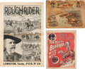 Entertainment Collectibles, Three Wild West Show Publications: Including a Scarce 1894 Buffalo Bill's Wild West Program.... (Total: 3 Items)
