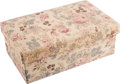 Political:Presidential Relics, Eleanor Roosevelt: Pasteboard and Fabric Stationery Box.... (Total: 2 Items)