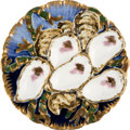 Political:Presidential Relics, Rutherford B. Hayes: White House China Oyster Plate....