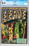Golden Age (1938-1955):Horror, Eerie #2 River City Pedigree (Avon, 1951) CGC VF+ 8.5 Off-whitepages....