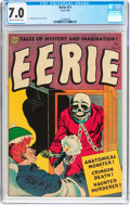 Golden Age (1938-1955):Horror, Eerie #11 River City Pedigree (Avon, 1953) CGC FN/VF 7.0 Cream tooff-white pages....