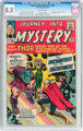 Journey Into Mystery #103 (Marvel, 1964) CGC VF+ 8.5 Off-white pages