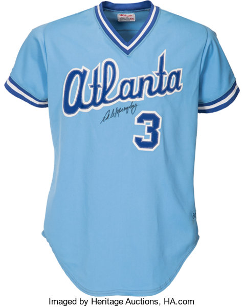new products bb474 c6f80 1980 Dale Murphy Game Worn Atlanta Braves Jersey ...