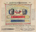 Political:Small Paper (1896-present), Taft & Sherman: Jugate Banner Advertisement....