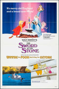 "Movie Posters:Animation, The Sword in the Stone/Winnie the Pooh and a Day for Eeyore Combo& Others Lot (Buena Vista, R-1983). One Sheets (3) (27"" X ...(Total: 3 Items)"