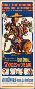 """Movie Posters:Fantasy, The 7 Faces of Dr. Lao (MGM, 1964). Insert (14"""" X 36""""). Fantasy.. ..."""