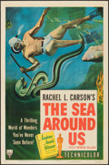 """Movie Posters:Documentary, The Sea Around Us & Others Lot (RKO, 1953). One Sheets (6) (27"""" X 41""""), Photos (6) (8"""" X 10""""), Pressbook (11 X 17""""), Ad Sli... (Total: 18 Items)"""
