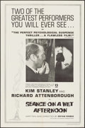 """Movie Posters:Crime, Séance on a Wet Afternoon & Other Lot (Artixo, 1964). OneSheets (2) (27"""" X 41""""), Lobby Card Set of 8 (11"""" X 14""""), &Photos ... (Total: 29 Items)"""