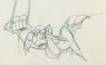 Animation Art:Production Drawing, Tugboat Mickey Mickey Mouse Animation Drawing (Walt Disney,1940). ...