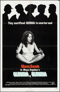 "Georgia, Georgia & Other Lot (Cinerama Releasing, 1972). One Sheets (2) (27"" X 41""). Black Films. ... (Tot..."