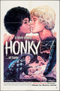 "Movie Posters:Blaxploitation, Honky (Jack Harris Enterprises, 1971). One Sheet (27"" X 41""). Blaxploitation.. ..."