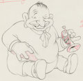 Animation Art:Production Drawing, Mother Goose Goes Hollywood Wallace Beery Animation Drawing(Walt Disney, 1938). ...