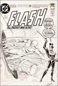 Original Comic Art:Covers, Carmine Infantino and Dick Giordano The Flash #298 CoverOriginal Art (DC, 1981)....
