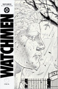 Original Comic Art:Covers, Dave Gibbons Watchmen #2 Cover Original Art (DC, 1986)....