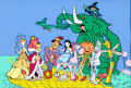 Animation Art:Presentation Cel, Journey Back to Oz Publicity Cel (Filmation,1972). ...