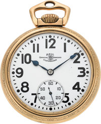 Ball Watch Co. 21 Jewel Official RR Standard
