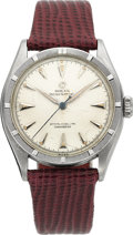 Timepieces:Wristwatch, Rolex Ref. 6084 Steel Oyster Perpetual, circa 1956. ...