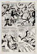 Original Comic Art:Panel Pages, John Buscema and Frank Giacoia Sub-Mariner #3 Page 2Original Art (Marvel, 1968)....