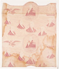 Political:Textile Display (pre-1896), Andrew Jackson: Presidential Chintz Fabric....