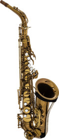 Musical Instruments:Horns & Wind Instruments, 1958 Selmer Mark VI Brass Alto Saxophone, Serial #M75520....