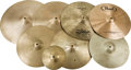 Musical Instruments:Drums & Percussion, 1970s Group of Zildjian and Other Cymbals....