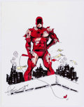 Original Comic Art:Illustrations, Rick Stasi - Daredevil Illustration Original Art (1994)....