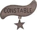 Arms Accessories, Virgil Earp: His Iconic Tombstone Badge....