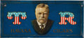 Political:3D & Other Display (pre-1896), Theodore Roosevelt: Lithographed Tin Cigar Sign....