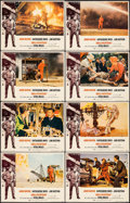 "Movie Posters:Action, Hellfighters (Universal, 1969). Lobby Card Set of 8 (11"" X 14"").Action.. ... (Total: 8 Items)"