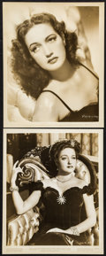 "Movie Posters:Miscellaneous, Dorothy Lamour Lot (Paramount, 1945). Portrait Photos (2) (8.25"" X10""). Miscellaneous.. ... (Total: 2 Items)"